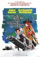 Rooster Cogburn - German Movie Poster (xs thumbnail)