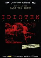 Idioterne - German DVD cover (xs thumbnail)