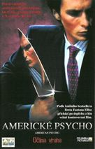 American Psycho - Czech VHS movie cover (xs thumbnail)