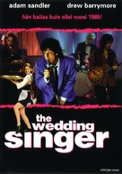 The Wedding Singer - Finnish Movie Cover (xs thumbnail)