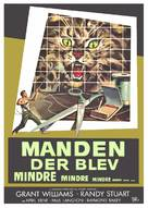 The Incredible Shrinking Man - Danish Movie Poster (xs thumbnail)