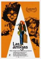 Girlfriends - Spanish Movie Poster (xs thumbnail)