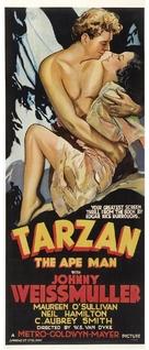 Tarzan the Ape Man - Australian Movie Poster (xs thumbnail)