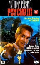 Psycho III - British VHS movie cover (xs thumbnail)