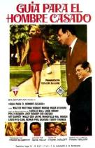 A Guide for the Married Man - Spanish Movie Poster (xs thumbnail)