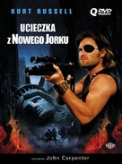 Escape From New York - Polish DVD cover (xs thumbnail)