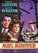 Mrs. Miniver - Danish Movie Poster (xs thumbnail)