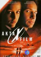 The X Files - Czech DVD movie cover (xs thumbnail)