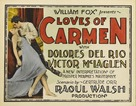 The Loves of Carmen - Theatrical poster (xs thumbnail)