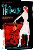 Die Halbzarte - German Movie Poster (xs thumbnail)