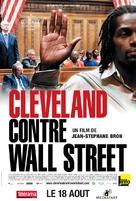 Cleveland Versus Wall Street - Mais mit dä Bänkler - French Movie Poster (xs thumbnail)