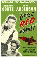 Little Red Monkey - British Movie Poster (xs thumbnail)
