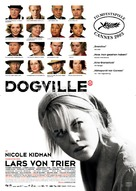Dogville - German Movie Poster (xs thumbnail)