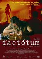 Factotum - Spanish Movie Poster (xs thumbnail)