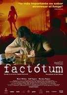 Factotum - Spanish Movie Poster (xs thumbnail)