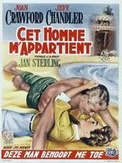 Female on the Beach - Belgian Movie Poster (xs thumbnail)