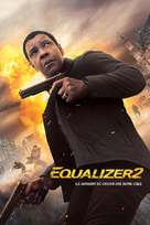 The Equalizer 2 - French Movie Cover (xs thumbnail)