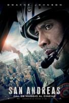 San Andreas - Italian Movie Poster (xs thumbnail)
