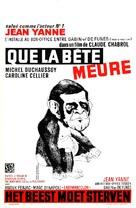 Que la bête meure - Belgian Movie Poster (xs thumbnail)