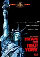 Escape From New York - DVD cover (xs thumbnail)