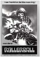 Rollerball - Danish Movie Poster (xs thumbnail)