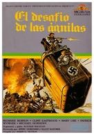 Where Eagles Dare - Spanish VHS movie cover (xs thumbnail)