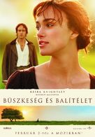 Pride & Prejudice - Hungarian Movie Poster (xs thumbnail)