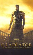Gladiator - Finnish VHS cover (xs thumbnail)