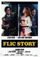 Flic Story - Italian Movie Poster (xs thumbnail)