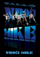 Magic Mike - Slovenian Movie Poster (xs thumbnail)