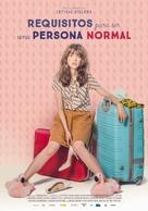 Requisitos para ser una persona normal - Spanish Movie Poster (xs thumbnail)