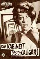 The Cabinet of Caligari - German poster (xs thumbnail)