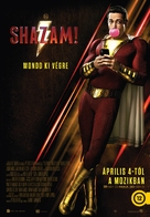 Shazam! - Hungarian Movie Poster (xs thumbnail)