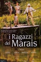 Enfants du marais, Les - Italian Movie Poster (xs thumbnail)
