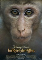 Monkey Kingdom - German Movie Poster (xs thumbnail)