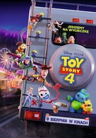 Toy Story 4 - Polish Movie Poster (xs thumbnail)