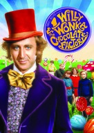 Willy Wonka & the Chocolate Factory - DVD cover (xs thumbnail)
