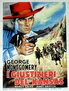 Masterson of Kansas - Italian Movie Poster (xs thumbnail)