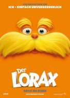The Lorax - German Movie Poster (xs thumbnail)
