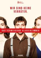 Das schweigende Klassenzimmer - German Movie Poster (xs thumbnail)