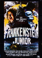 Young Frankenstein - Danish Movie Poster (xs thumbnail)