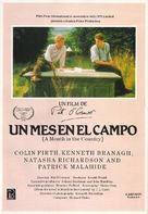A Month in the Country - Spanish Movie Poster (xs thumbnail)