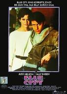Blue City - German Movie Poster (xs thumbnail)