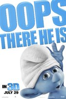 The Smurfs - British Movie Poster (xs thumbnail)