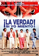 Vérité si je mens, La - Spanish Movie Poster (xs thumbnail)
