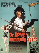 Where the Spies Are - Danish Movie Poster (xs thumbnail)