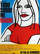 Todo sobre mi madre - Spanish Movie Poster (xs thumbnail)
