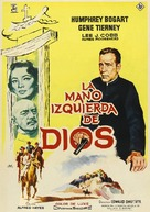The Left Hand of God - Spanish Movie Poster (xs thumbnail)
