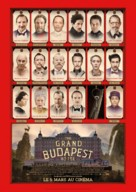 The Grand Budapest Hotel - Belgian Movie Poster (xs thumbnail)