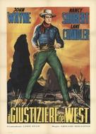 Sagebrush Trail - Italian Movie Poster (xs thumbnail)